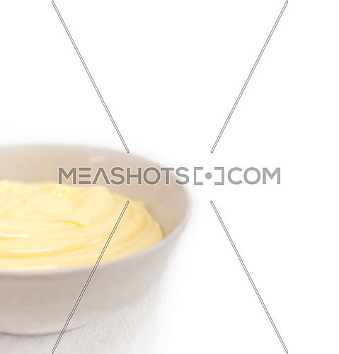 fresh natural  homemade vanilla custard pastry cream