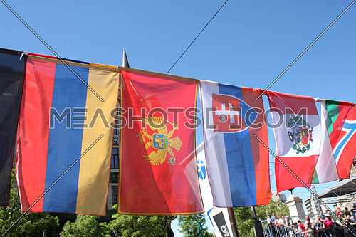 some europen flags