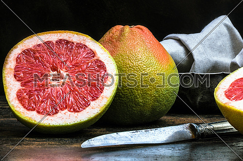 Grape Fruit - still life photography