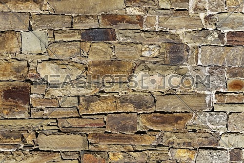 Close up photo of a stone wall, architectural background