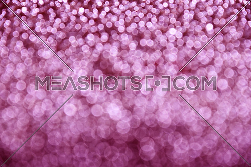 Purple glitter bright magic fairy warm light circles abstract blur effect background