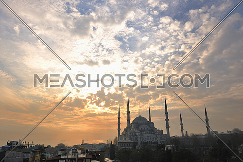 Sultan Ahmet Mosque in istanbul turkey
