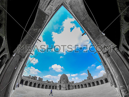 Ahmed Ibn Tulun Mosque in Cairo