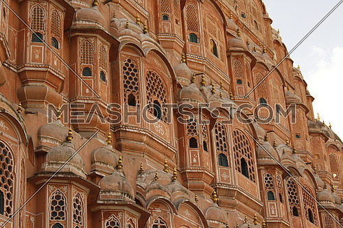 a prospective shot of Hawa Mahal in india (Palace of the Winds)