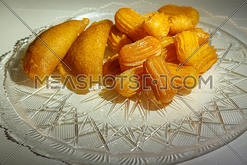 Ramadan sweets Balah El sham and Qatayef