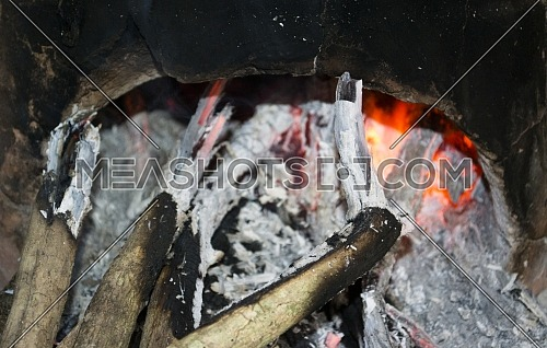 Traditional Way of Cooking Using Firewood on Javanese Kitchen in an Indonesian Rural