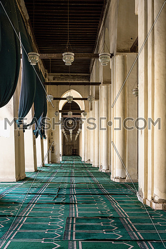 ELHakem Mosque indoor carpet