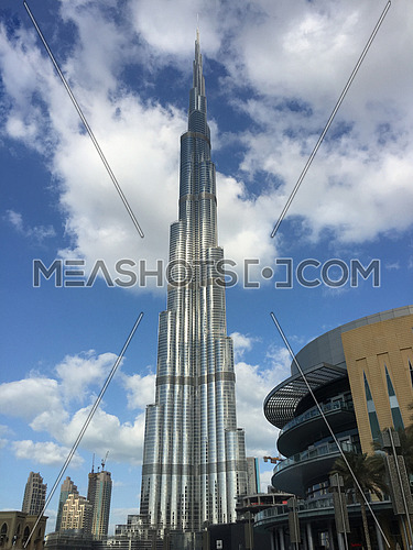 burj khalifa tallest tower in the world image in jan 2016
