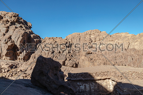 Shot for Sinai Mountain by day