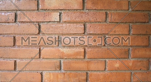 Neat Red Brick Wall Traditional Structure As A Background