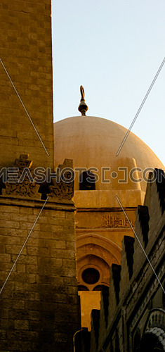 Fatimid Cairo.. Minaret and trapped walls.