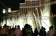Visitors take photos of Bellagio fountains (1 of 3)