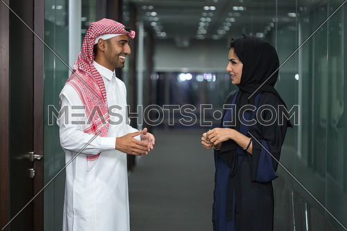 Quick conversation after the meeting