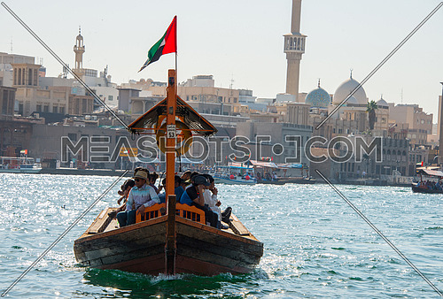 Abra in Dubai creek