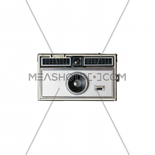 Old vintage Photo Camera on a white Background
