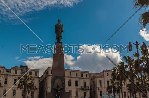 Fixed for Saad Zagloul Statue at Alexandria at Day