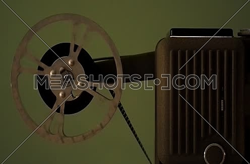 Projector that run an old film