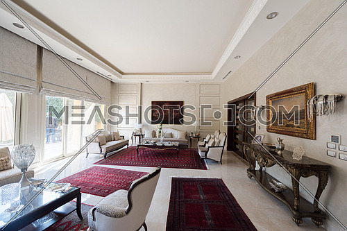 comfortable luxury middle eastern living room