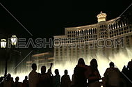 Visitors take photos of Bellagio fountains (3 of 3)