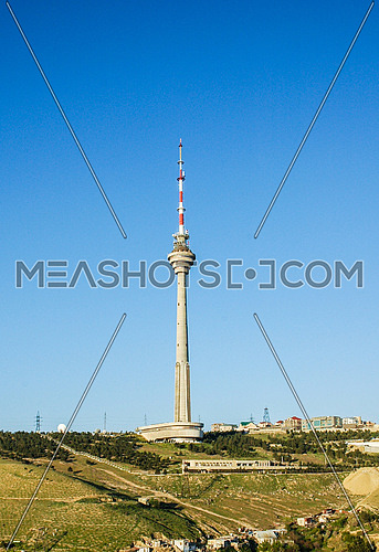 TV Tower in Baku Azerbaijan