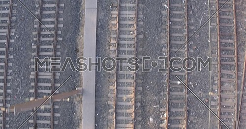 Tracking wide shot for Railway at day