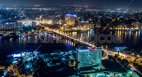 Cairo from the top of Cairo Tower