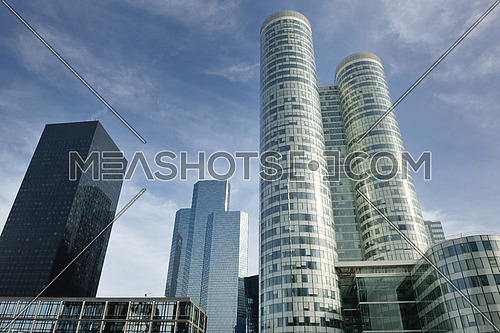 Modern office  Buildings in the new center of Paris city