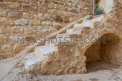 Old staircase leading to the Monastery of Saint Paul the Anchorite (Monastery of the Tigers), Egypt