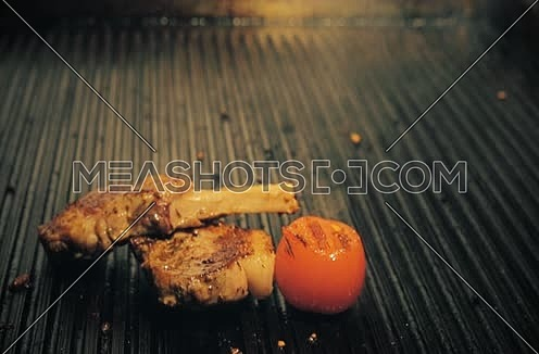 Grilled Ribs on the Grill