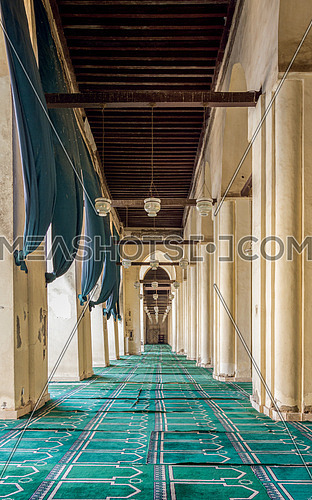 ELHakem Mosque corridor carpet