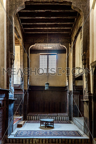 interior area in ElSehemy House in old cairo egypt
