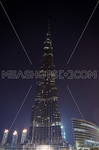 Burj Khalifa Tallest tower in the world Dubai UAE