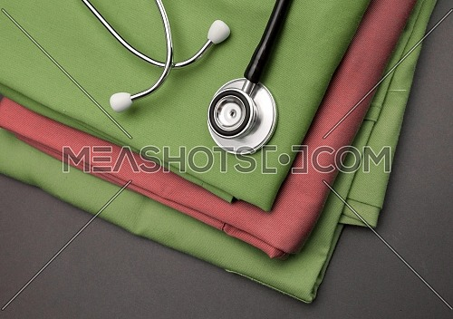packing of green capsules, conceptual image