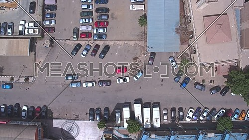 Fly Down Top Shot Drone reaveling maadi area in 22th of March 2018 at day.