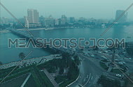 A top shot timelapse for cairo by day