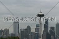 Downtown Seattle morning - medium zoom out