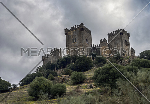 Castle of Almodovar del Rio, It is a fortitude of Moslem origin, it was a Roman fort and the current building has definitely origin Berber, a Stage of the American producer HBO, for the series Game of Thrones, take in Almodovar del Rio, Spain