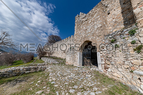 The Platamon Castle is a Crusader castle (built between 1204 and 1222) in northern Greece and is located southeast of Mount Olympus, in a strategic position which controls the exit of the Tempe valley