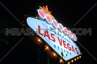 Las Vegas sign at night - fast pans (3 of 7)