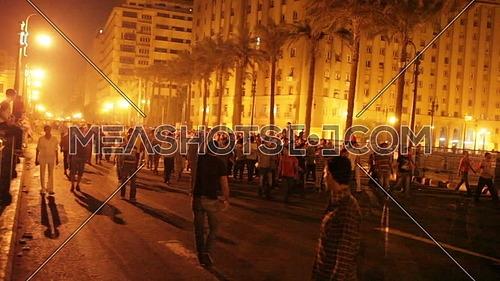 Egyptian Revolution During 9 October 2011 Maspero incident