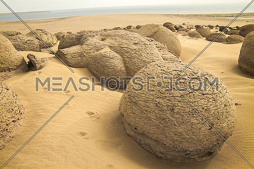 Unique Rock formation from the deserts of Egypt