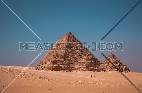 Timelapse of Giza Pyramids at Day