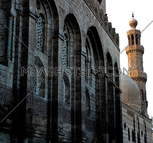 Fatimid Cairo.. Minarets and trapped walls.