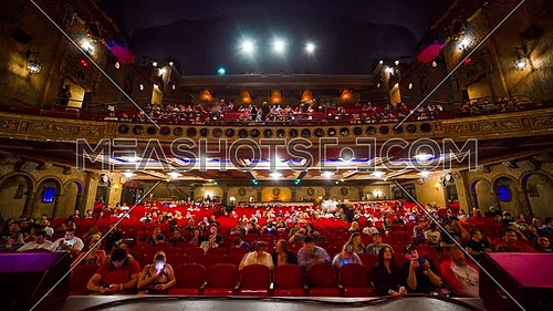 Theater timelapse Tampa, Florida, USA