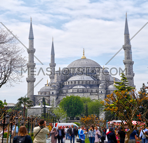 Sultan ahmet mosque or blue mosque in Istanbul, Turkey