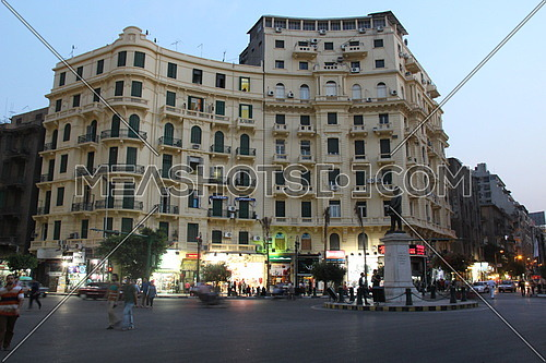 Cairo , downtown a photo from talaat harb square