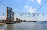 Time-lapse of Jeddah corniche in the morning