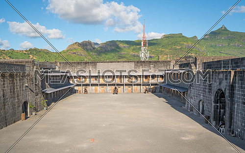 Ancient fortress located in Port Louis, Mauritius