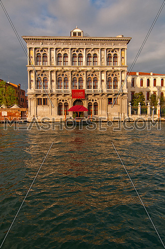 Venice Italy Casino view on grand canal