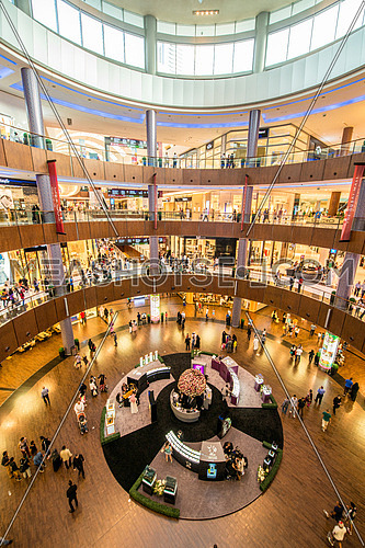 Dubai - AUGUST 7, 2014: Dubal Mall shopping mall on August 7 in UAE, Dubai. Dubal Mall shopping mall is one of the biggest in the world